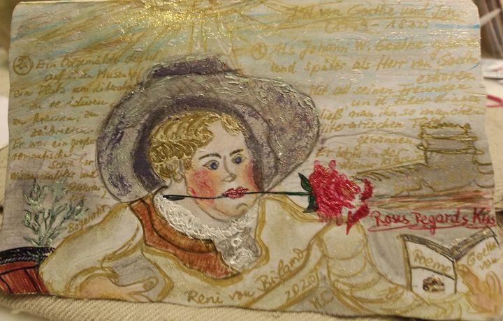 Exif_JPEG_420.  270 years von Goethe - Renis Artstylegallery