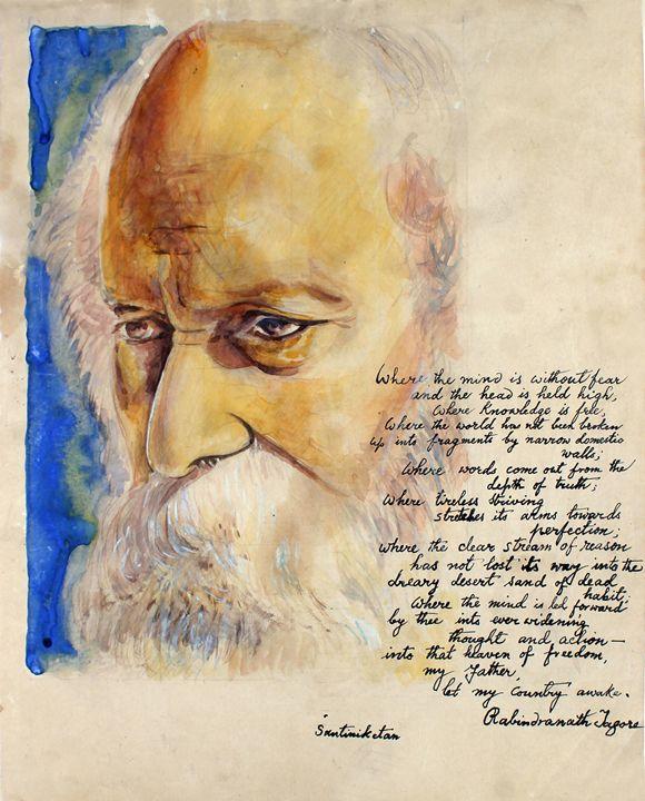 Rabindranath Tagore - M.C Thakur
