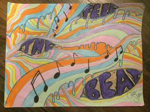 Feel the Beat - Cassie's Art
