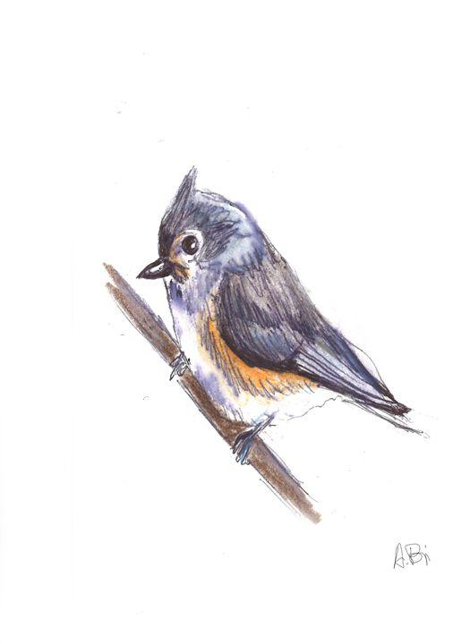 Cute bird - al_isin_wonderland