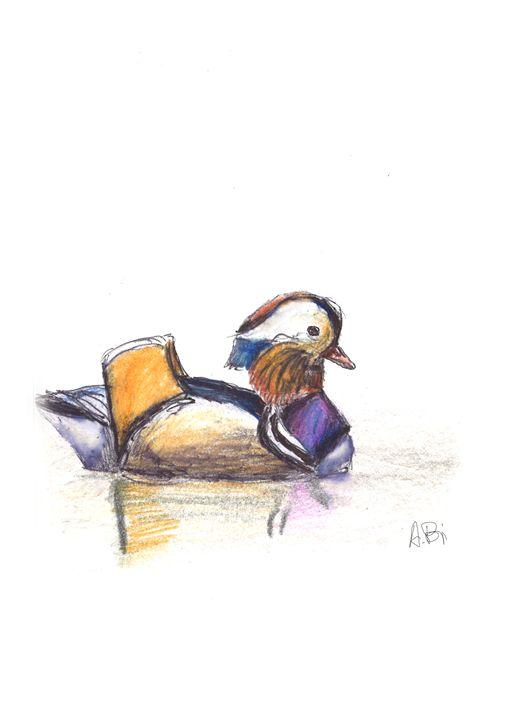 Mandarin Duck - al_isin_wonderland