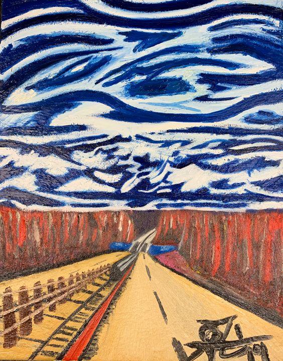 Road Trippin' - J. Reagan Art