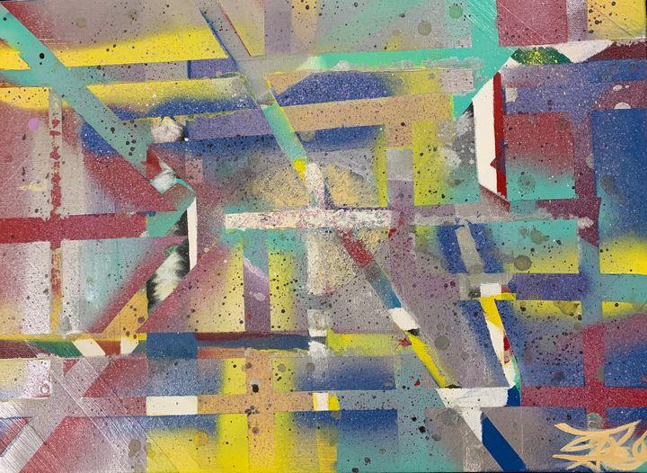 Sprayed - J. Reagan Art