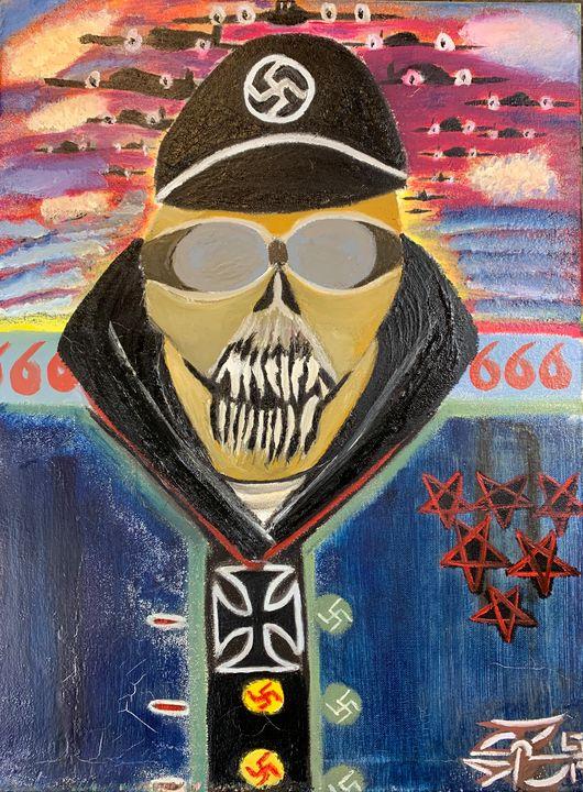 Hell Hath No Fury Like German Scorn - J. Reagan Art