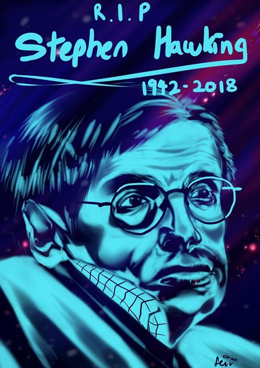 rip Stephen Hawking - Fevv