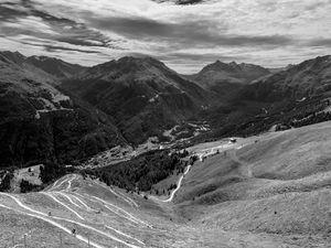 austrian summer alps