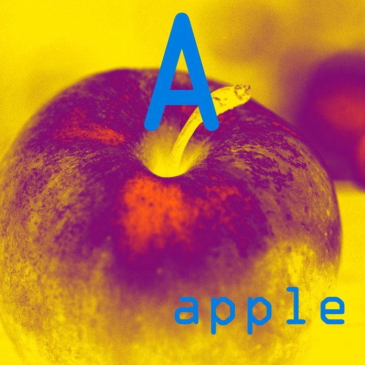 A is for apple - Plankcreative