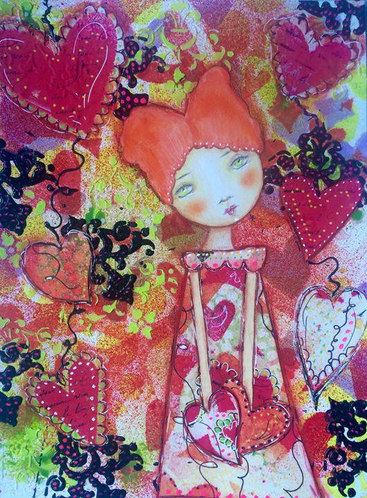 Happy Valentine's - My Artwork