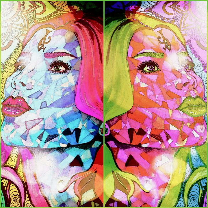 Duality. Version 2. - Art by Lisa-Marie