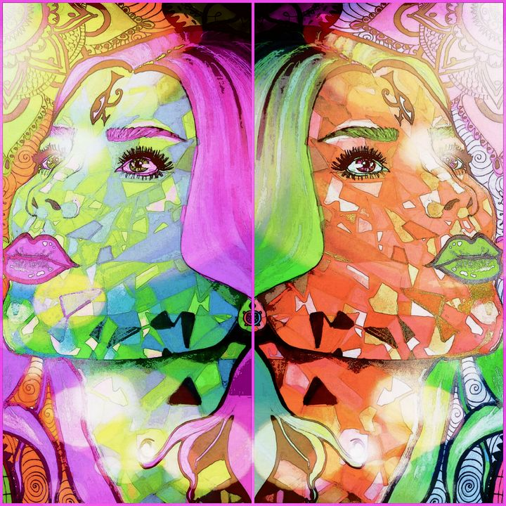 Duality. Version 3 - Art by Lisa-Marie