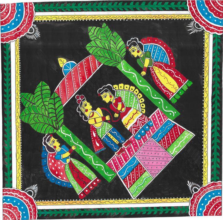 Bihari Painting - Sujata Manish Jha