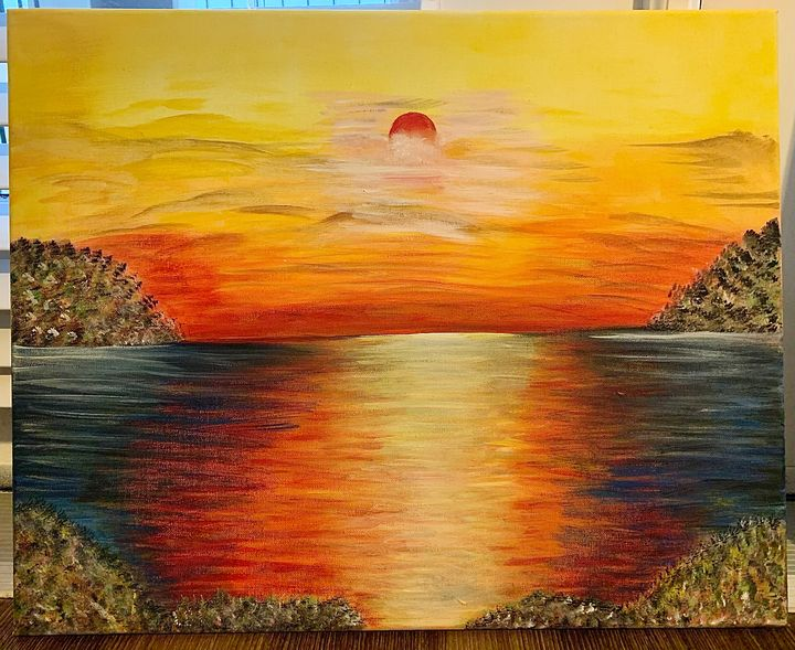 Coastal Sunset - ArtbyOmera