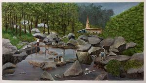Darjiling, a Shiva temple on tabakas