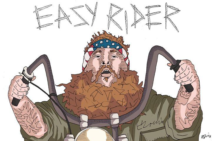 Action Bronson - Easy Rider - Haley Danzig