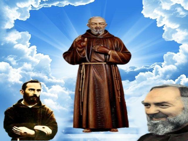 Padre Pio Digital Art - 1Elemental