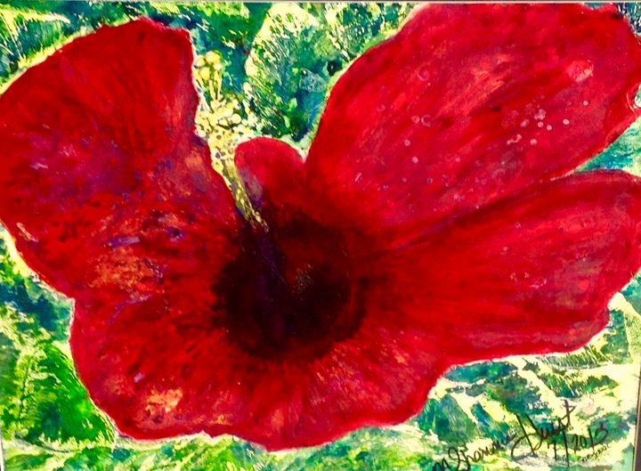 Poppy in Remembrance - MShannonHurst