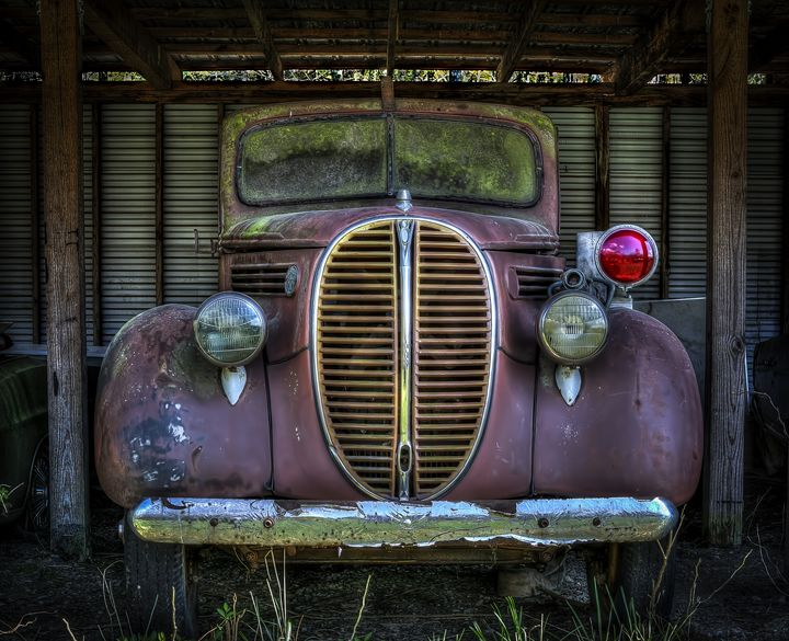 Old Ford Firetruck - Ken Johnson Imagery