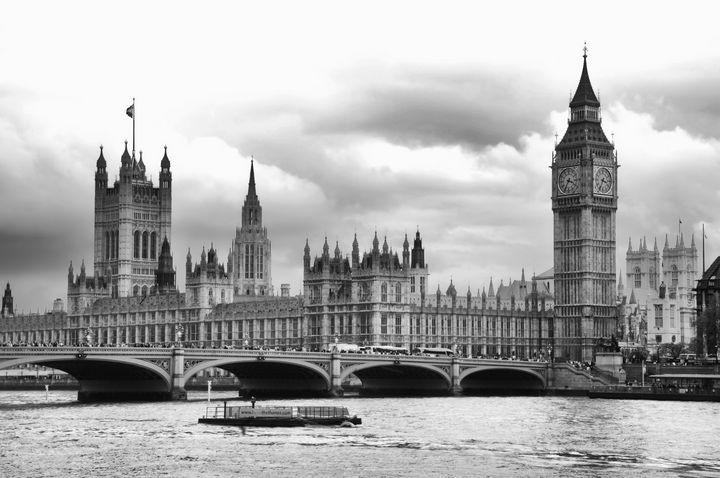 Big Clock in London - Ken Johnson Imagery