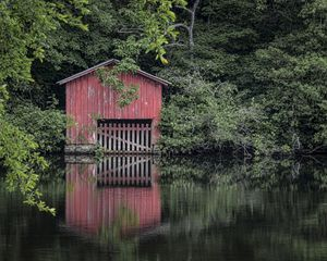 Little Red Boathouse