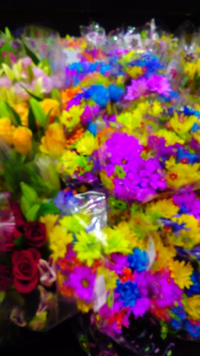 Colorful Flowers - SKS