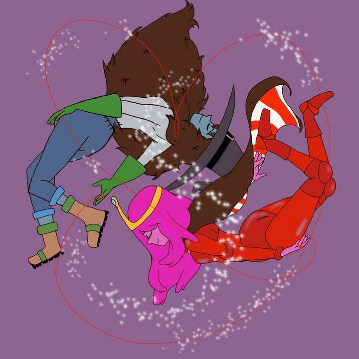 Princess BubbleGum X Marceline - YBsadComix