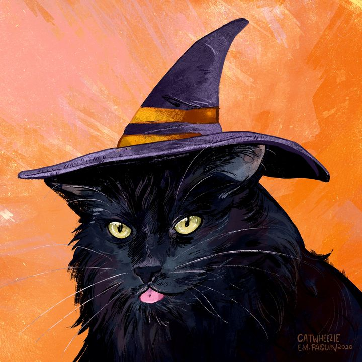 Witch - Catwheezie's Print Gallery