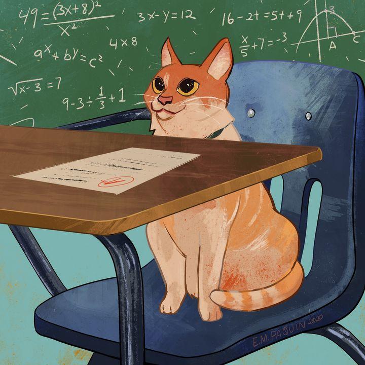 Mathematics - Catwheezie's Print Gallery