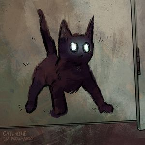 Little Creepy Guy - Catwheezie's Print Gallery