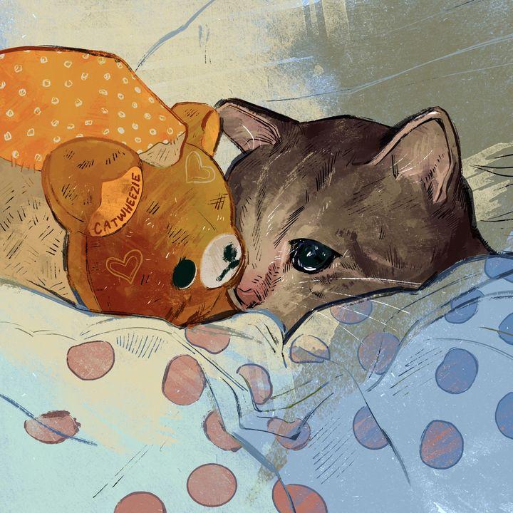 Sad Cat - Catwheezie's Print Gallery