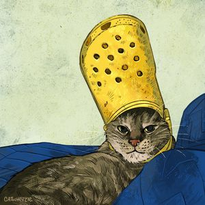 The Croc King - Catwheezie's Print Gallery