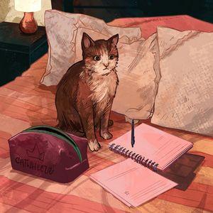 Do Your Homework, Cat!