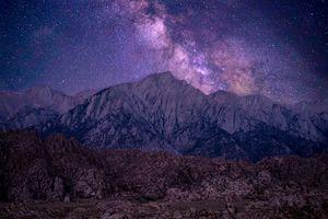 Milky Way in the Eastern Sierras