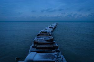The Frozen Pier, Milwaukee
