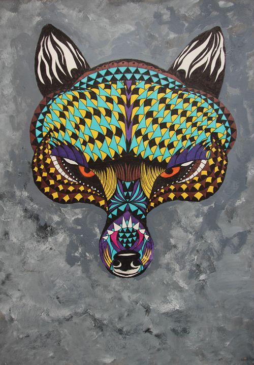 Mysterious Wolf - Sean Havis Art