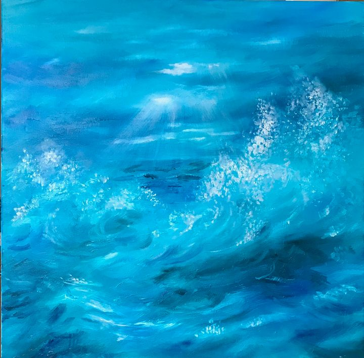 Sea Storm - Gul Art London