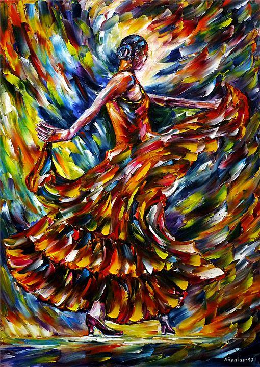 Flamenco Dancer I - Mirek Kuzniar