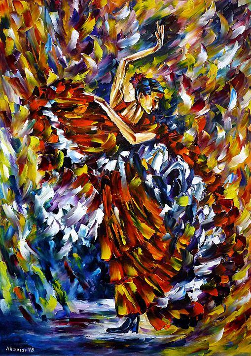 Flamenco Dancer IV - Mirek Kuzniar