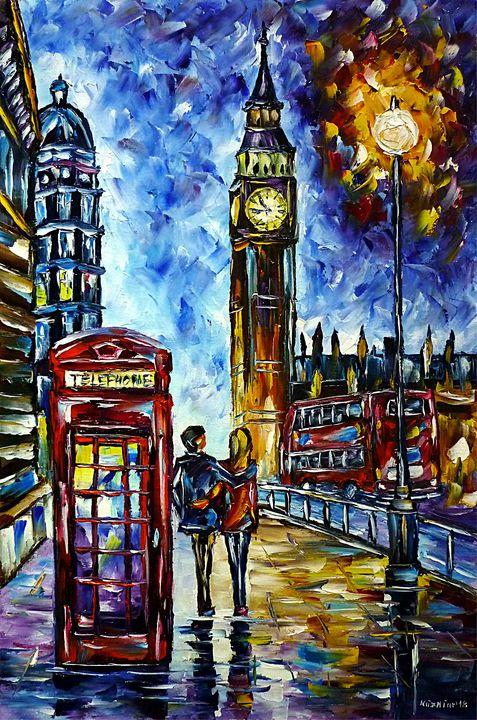 In Love Through London Streets - Mirek Kuzniar