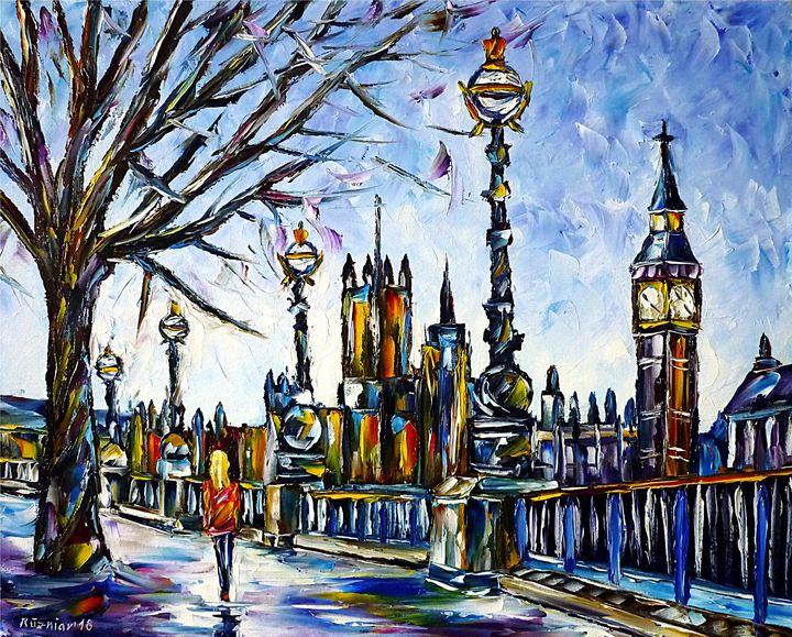 By The Thames - Mirek Kuzniar