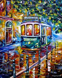 Tram In Lisbon I