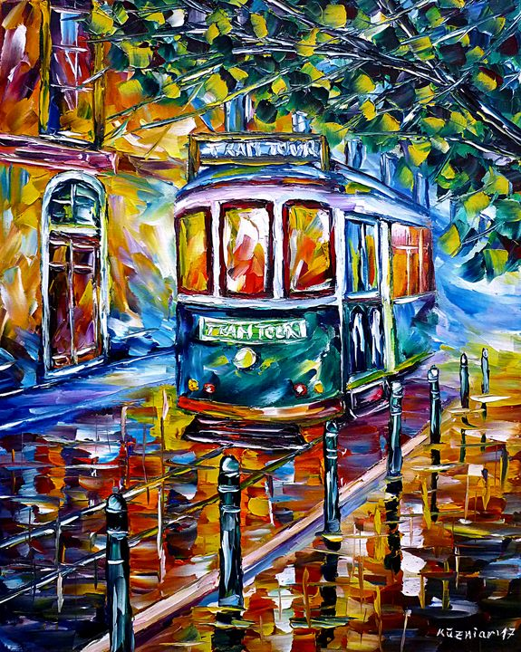 Tram In Lisbon I - Mirek Kuzniar