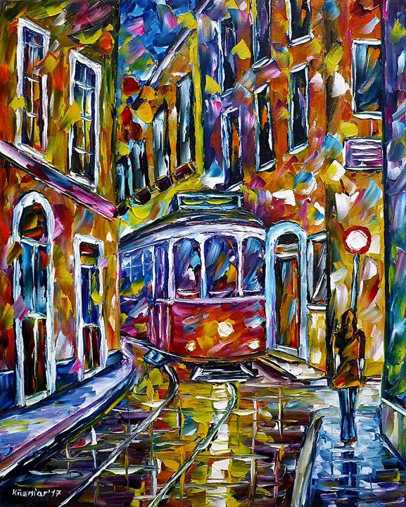 Tram In Lisbon II - Mirek Kuzniar