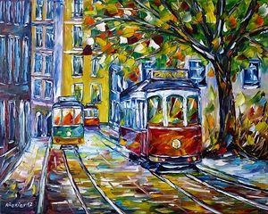 Tram In Lisbon III