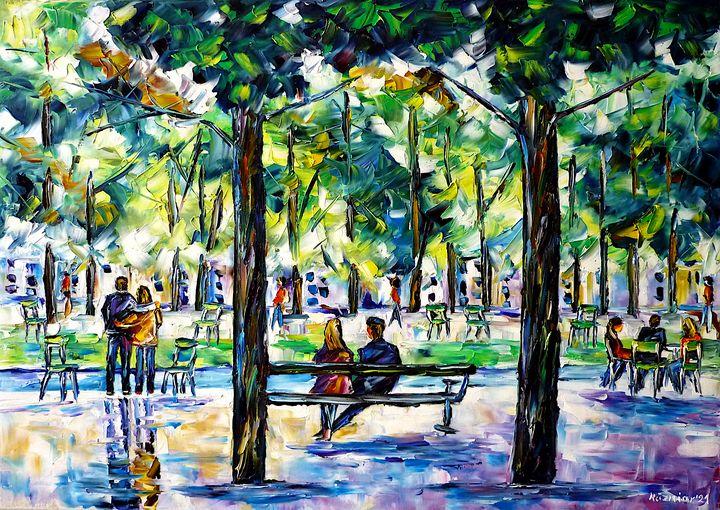 Jardin des Tuileries, Paris - Mirek Kuzniar