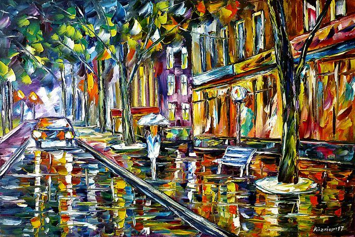 Night Rain - Mirek Kuzniar