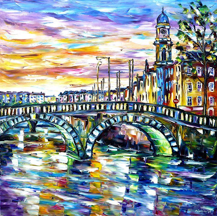 Morning Mood In Dublin - Mirek Kuzniar