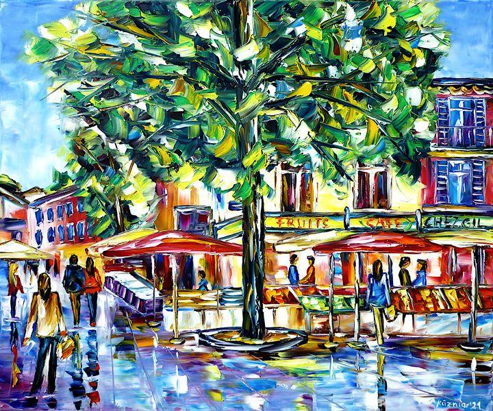 Market in Sainte-Maxime - Mirek Kuzniar