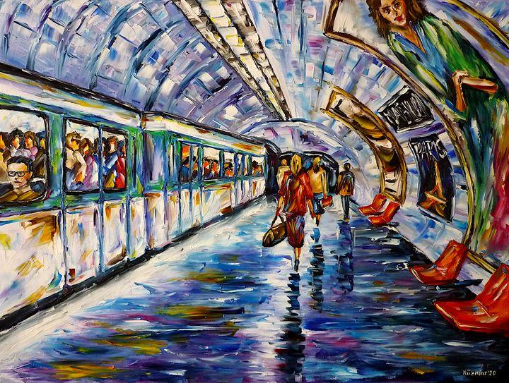 Metro Paris - Mirek Kuzniar