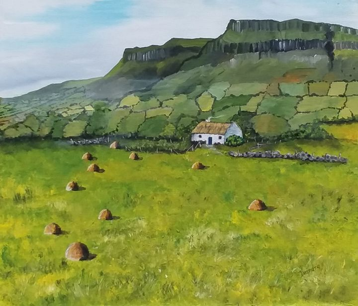 Benbulben,  County Sligo, Ireland - Emerald Isle Dreams
