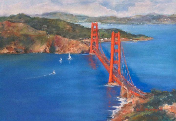 San Francisco Golden Gate Bridge - Hilda Vandergriff